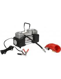 Auto kompresors 2 cilindri Led lampa 12 V / 250 W