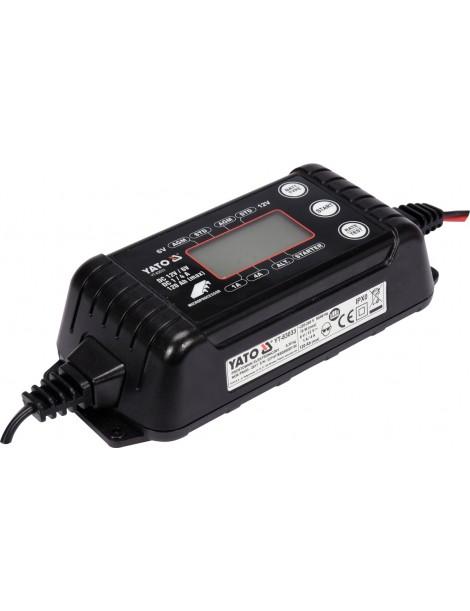 Automašīnas akumulatora lādētājs 6-12V 1 / 4A
