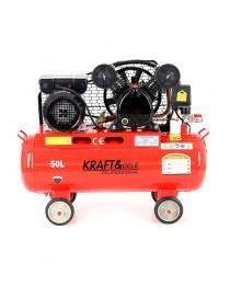 Eļļas kompresors 50L 2 virzuļi