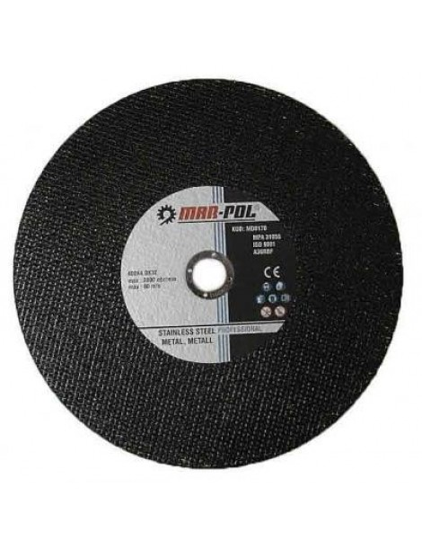Abrazīvie diski metālam 400X4.0X32MM MAR-POL